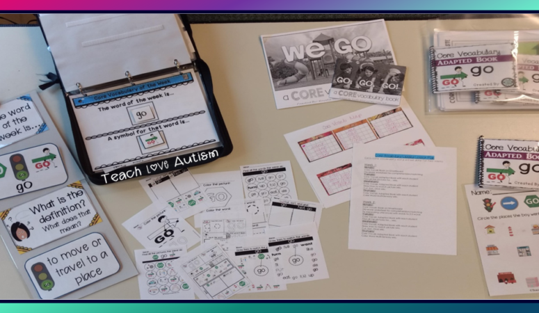 Daily Core Vocabulary Lesson Plans
